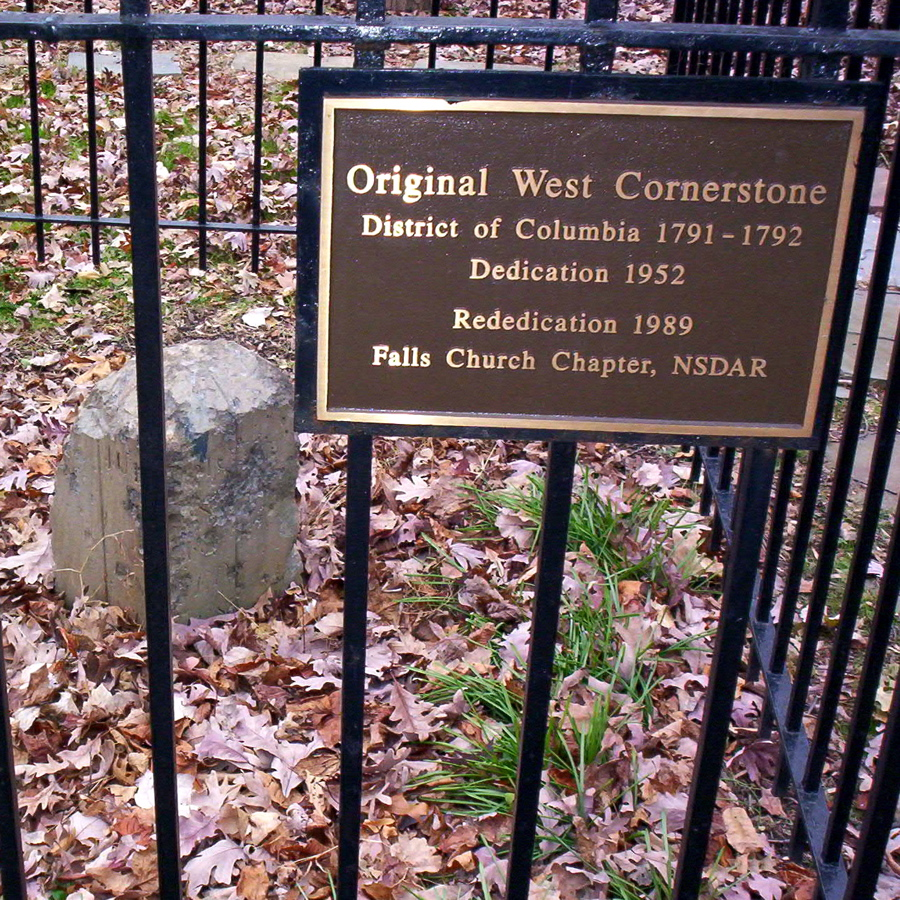 West Cornerstone in Andrew Ellicott Park. Image by Mark Zimmermann