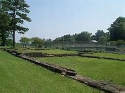 Current day remains of the Fayetteville Arsenal