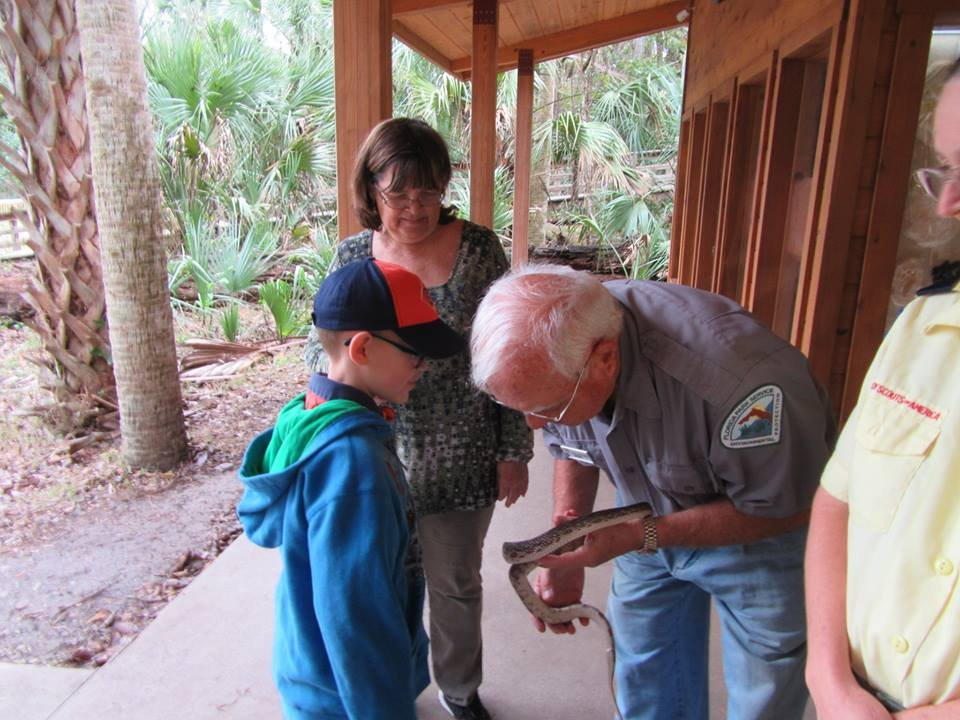 Volunteer with WWT at Nature Center