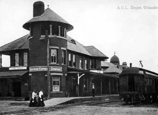 The Orlando Depot circa 1910
