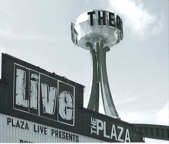 The Plaza Theatre Sign