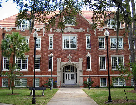 Front view of Anderson Hall.