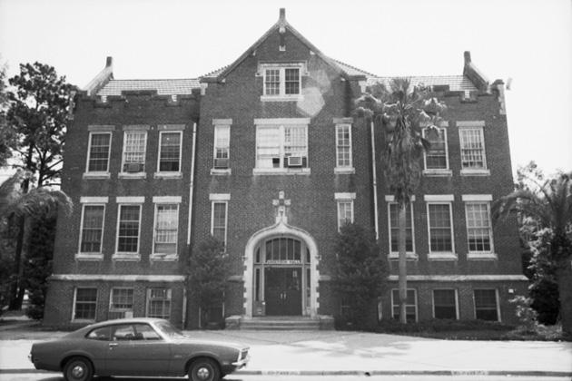 Anderson Hall circa 1960