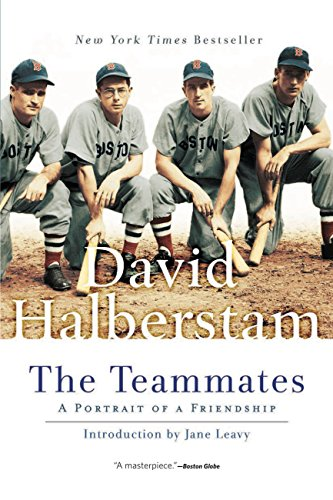 """The bestselling novel """"The Teammates: A Portrait of a Friendship"""" written by David Halberstam. The statue is named after the title of the book."""
