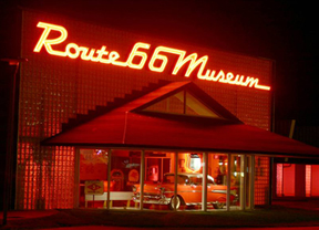 The Route 66 Museum is one many museums and historic sites operated by the Oklahoma Historical Society