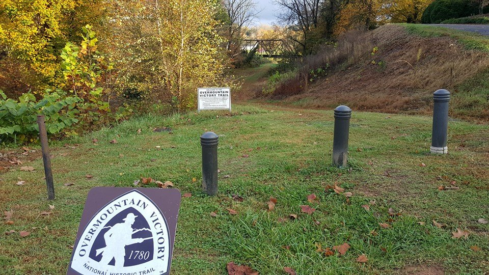Overmountain Victory Trail markers
