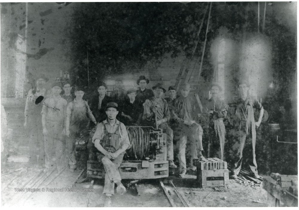 Eccles No. 5 miners. Photo courtesy of West Virginia & Regional History Center.