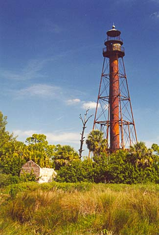 Anclote Key Lighthouse was first built in 1887 as part of a chain of lighthouses built in the 1880s to provide safe passage on the shores of the Gulf Coast.