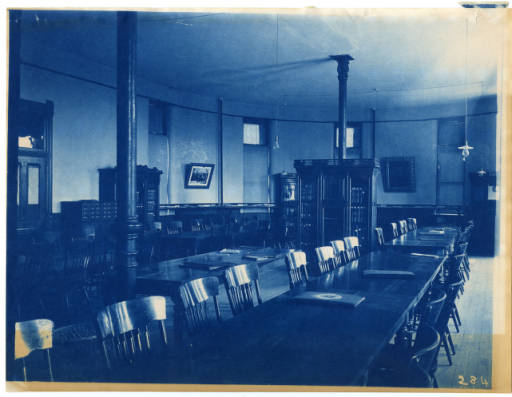 Room in the Original Agricultural College of Utah. (https://www.usu.edu/facilities/docs/planning/Historical_significance_document.pdf)