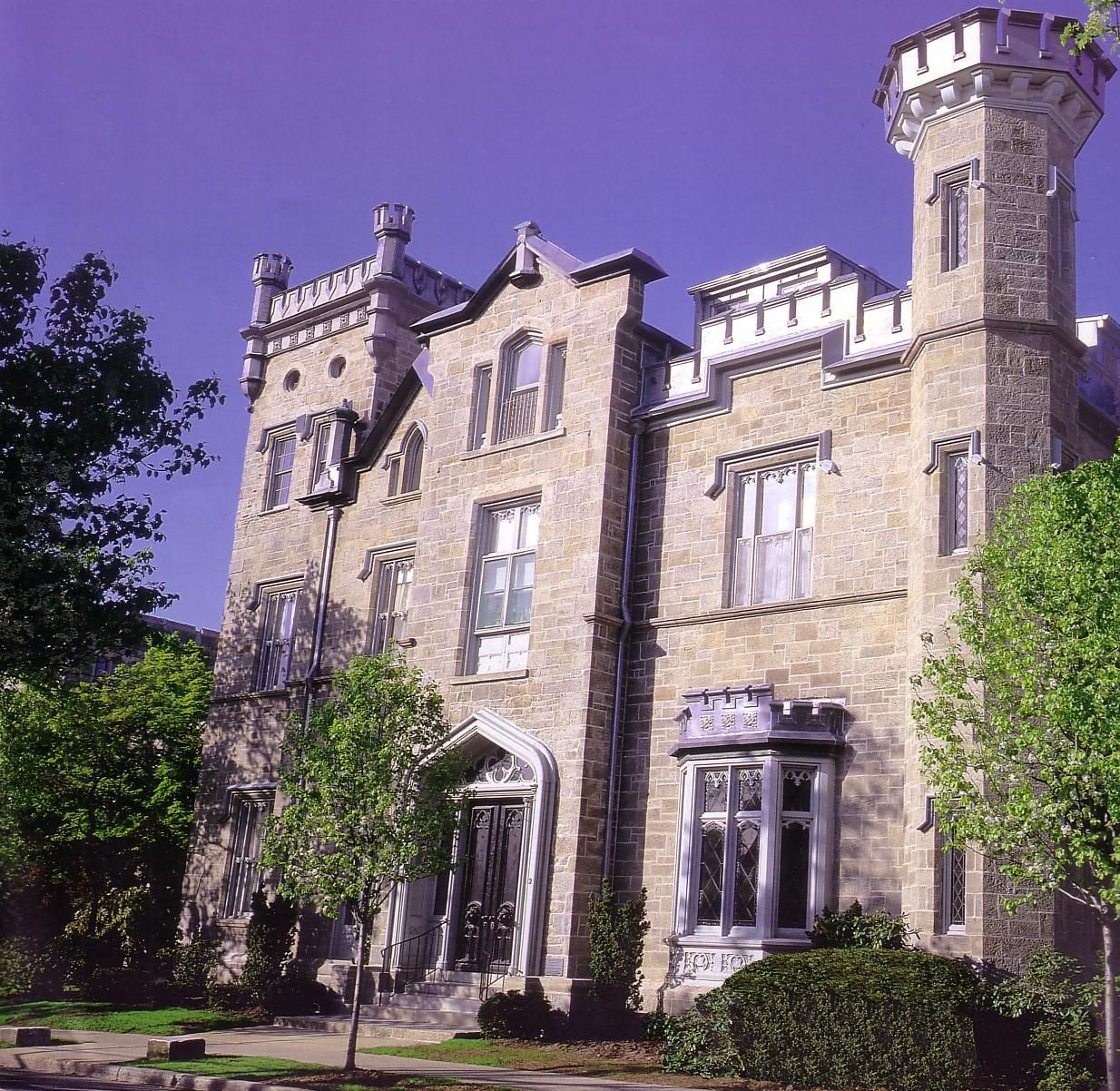 Exterior View of Leland Castle