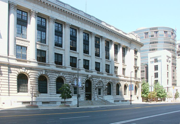 The Cleveland Public Library's main building was opened in 1925 and renovated in 1999.