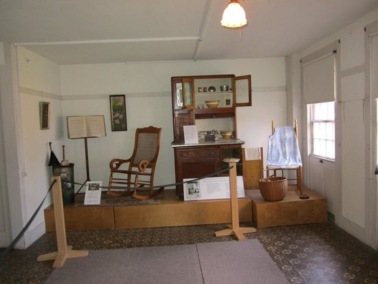An exhibit within the Shaker Museum.