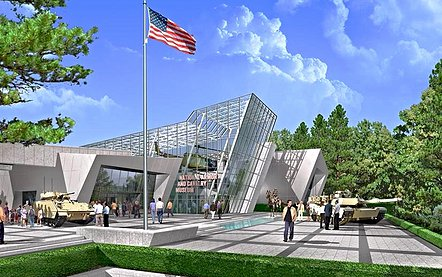 This is the rendering of the future museum