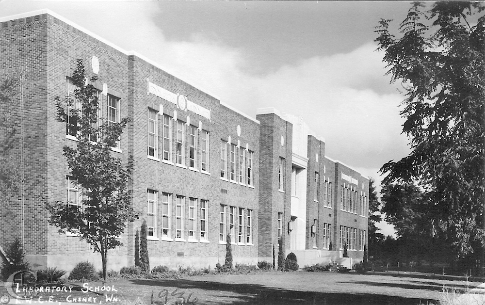 Martin Hall, home of the Laboratory School, 1937