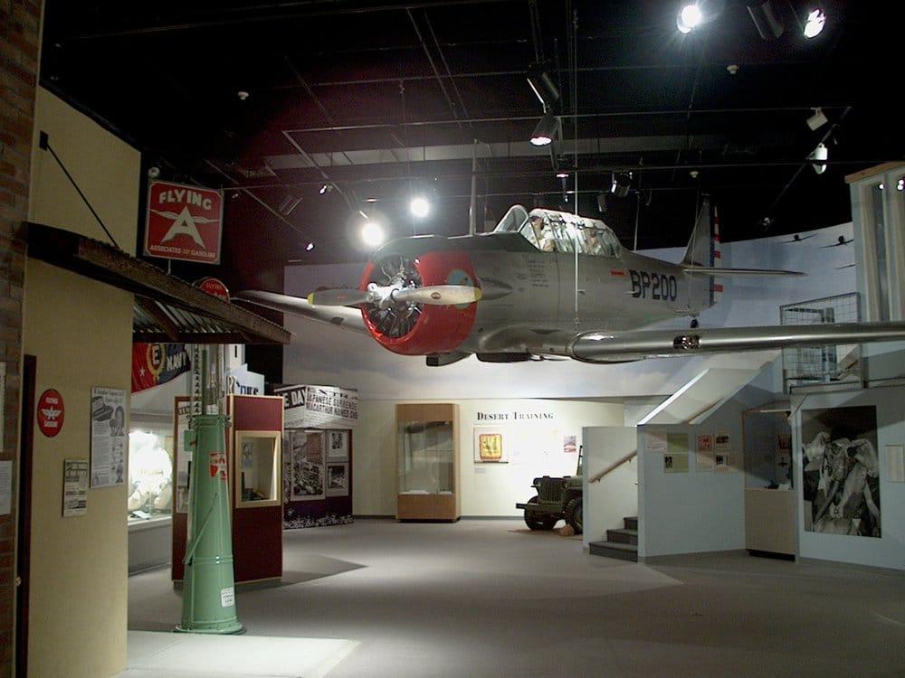 World War II Exhibit.