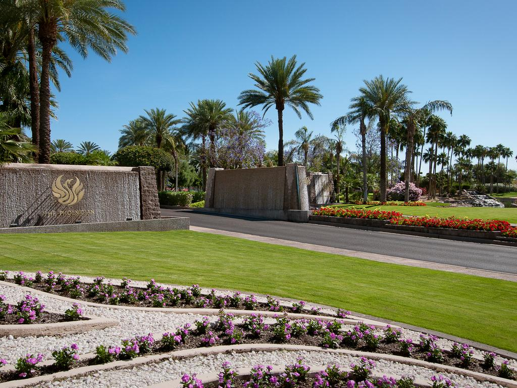 Entrance to The Phoenician.