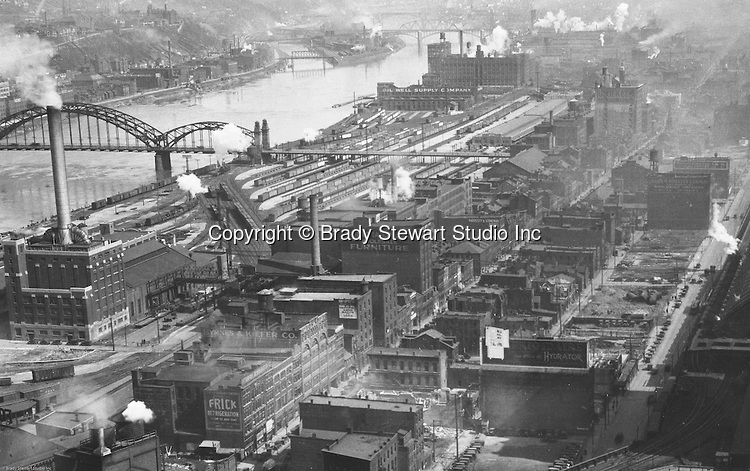 Pittsburgh's Strip District in 1929.