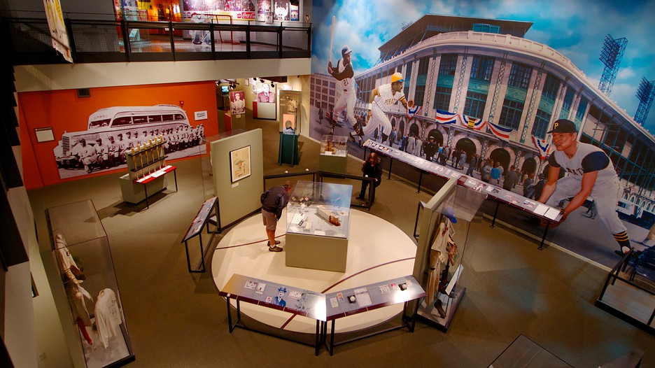 As expected, sports history plays a large role in a history center located in Pittsburgh.