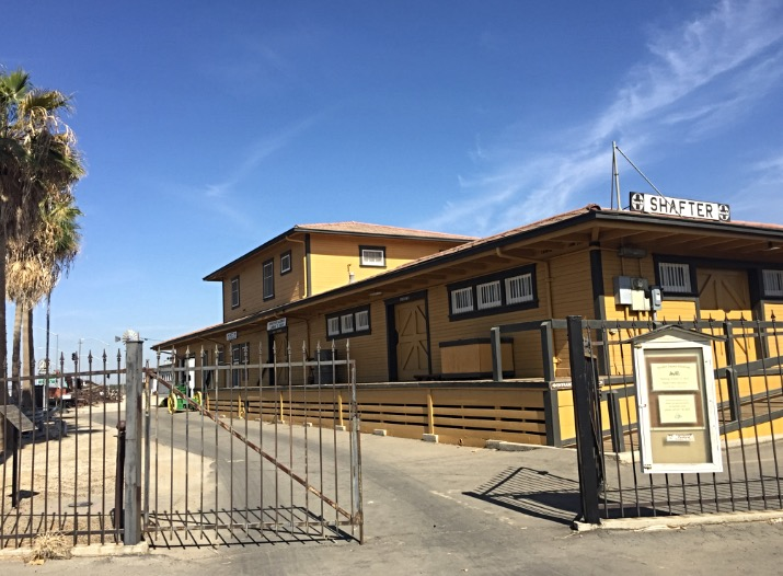 The Shafter Depot Museum and Gift Shop