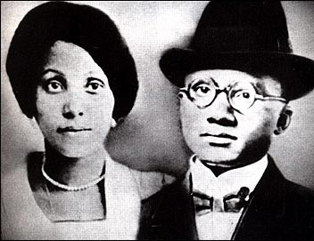 Louise and Earl Little, Malcolm's parents who were also social activists