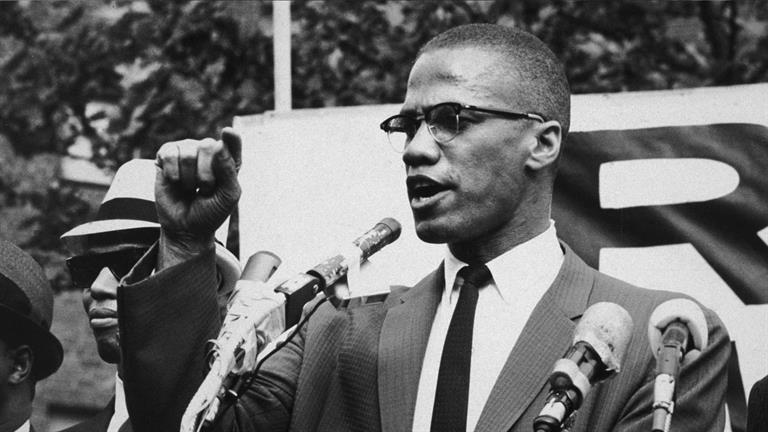 Malcolm went on to be an eloquent, controversial figure in the civil rights movement, advocating for a separate black nation rather than integration