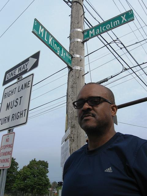 Dennis Burnside was one of the local leaders who pushed for the renaming of Lansing's Main Street to Malcolm X Street