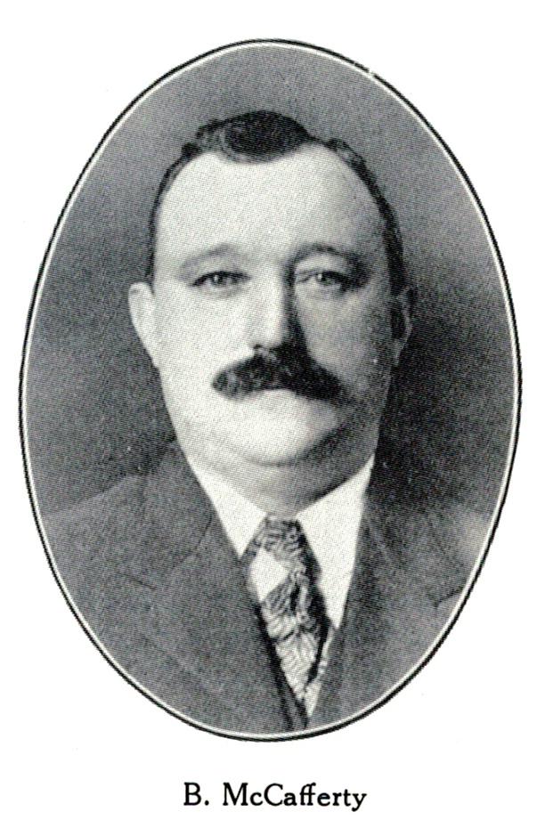 Burton McCafferty, 1907
