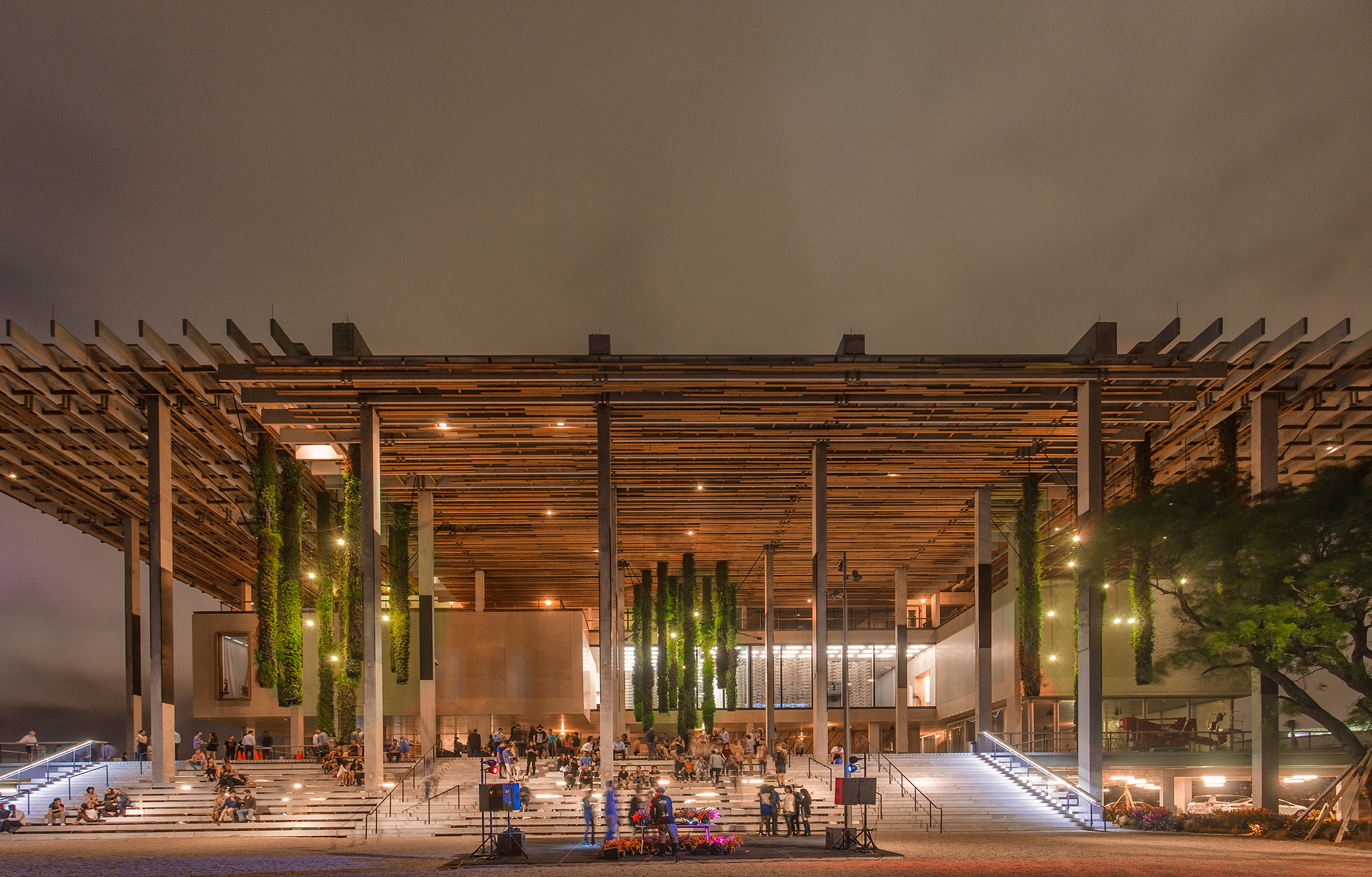 The 2013 PAMM building was designed by Swiss architects Herzog and de Meuron.
