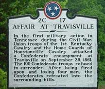 Old Battle of Travisville Marker
