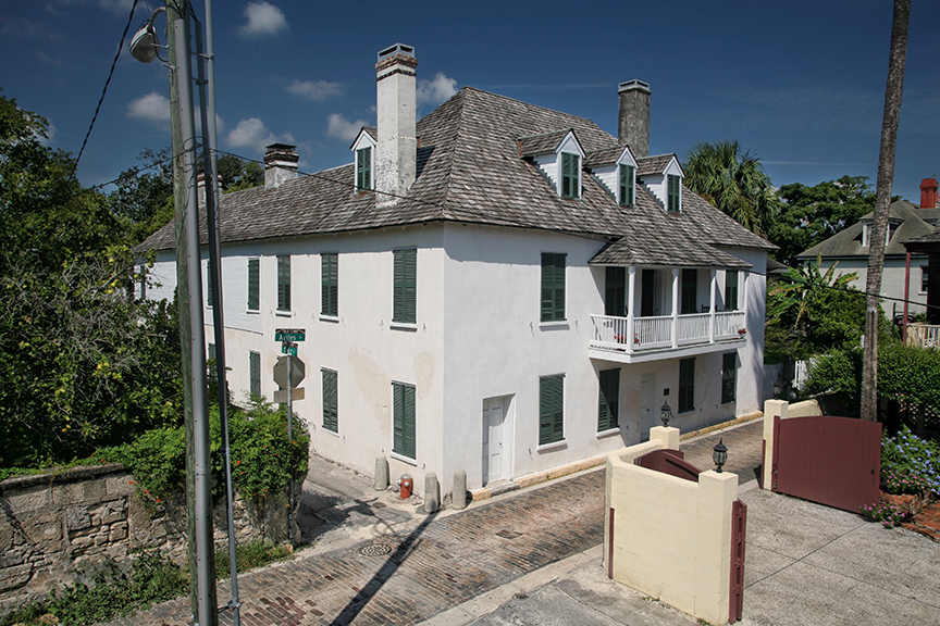 The Ximenez-Fatio House Museum was originally built sometime in the late 18th century, during the Second Spanish Period (1783-1821).