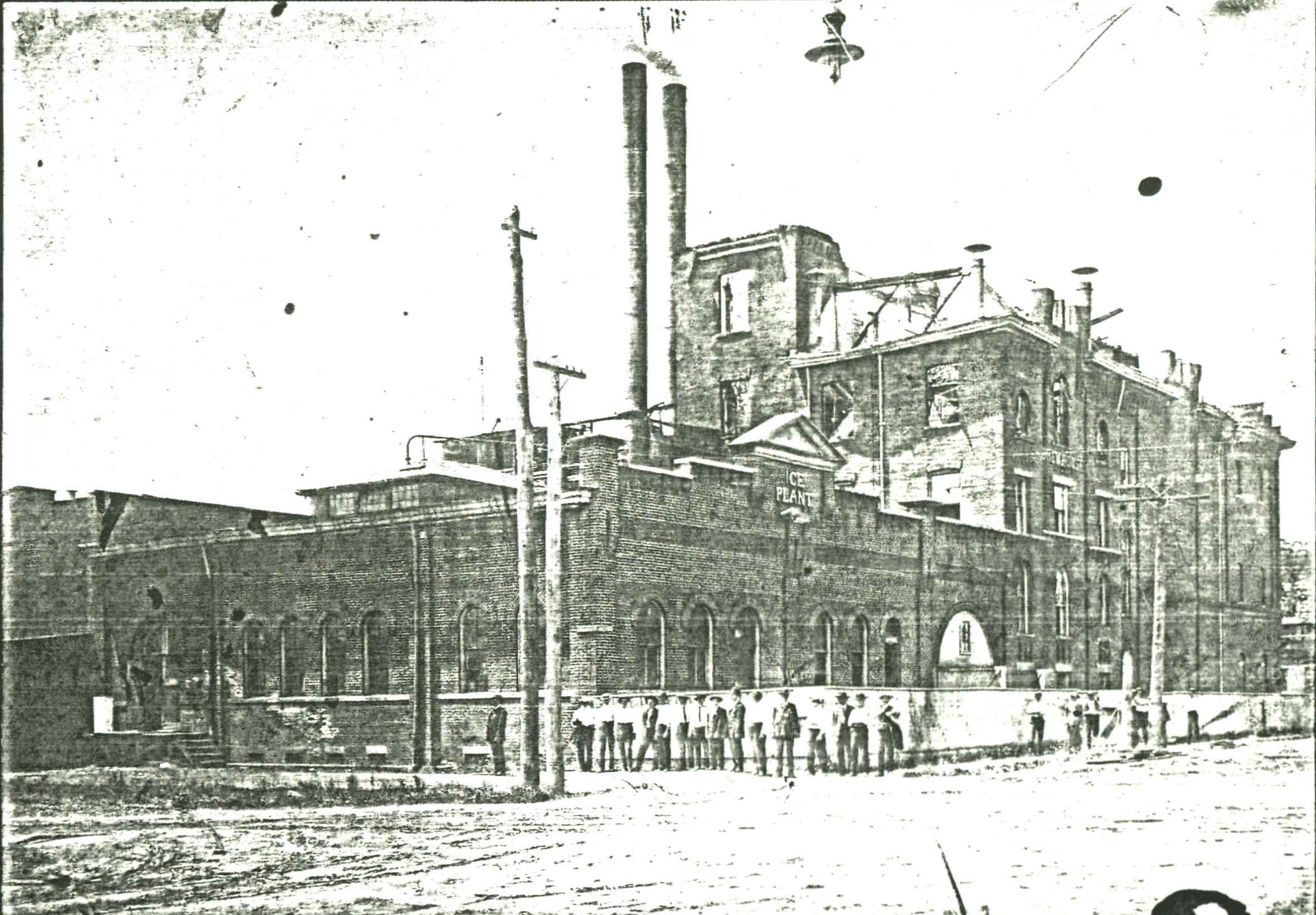 The brewery sometime in the early 1900s. Image courtesy of the West Huntington Public Library.