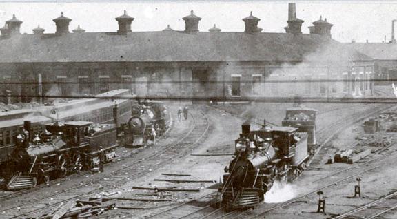 Locomotives using the roundhouse