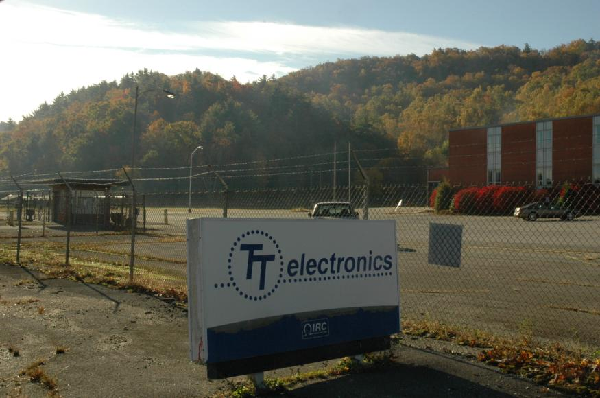 TT Electronics was the final occupant of this site.