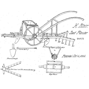 One of the inventions that Henry Blair patented.