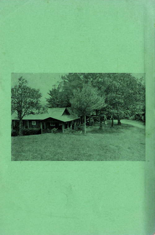 This was the camp's main house. Vera and some of the staff lived in the main house. The camp also conducted multiple activities out of the main house .