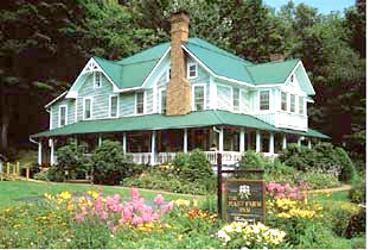 Current view of Mast Farm Inn
