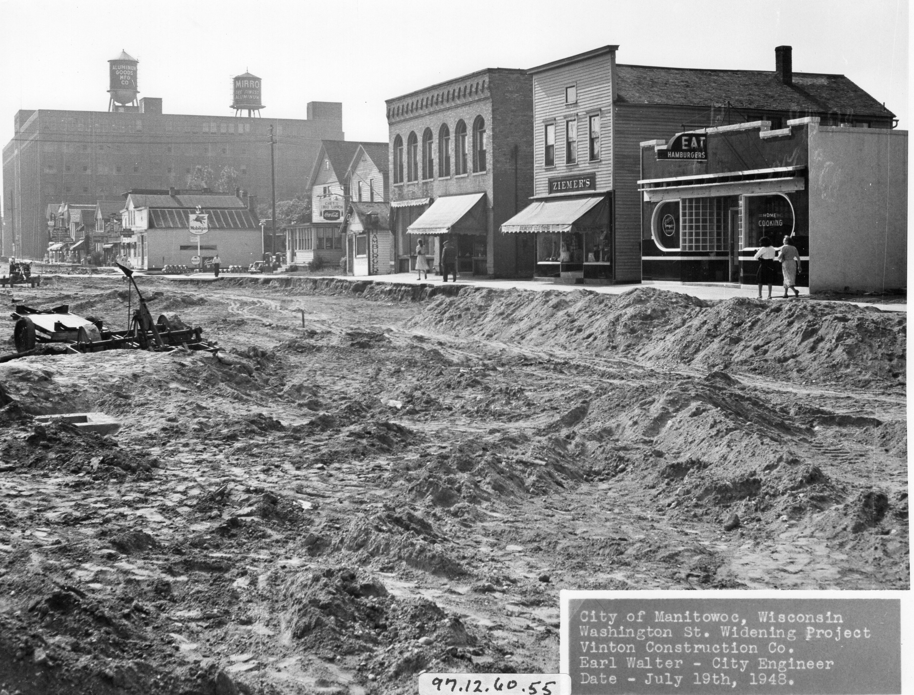 Washington Street Paving (July 1948)