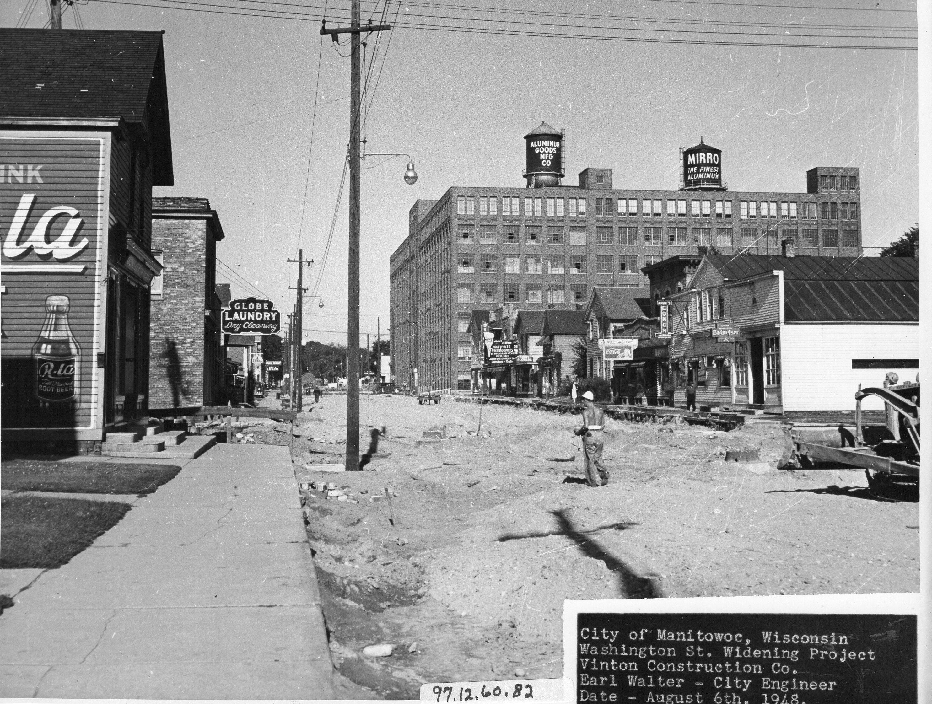 Washington Street Paving (1948)