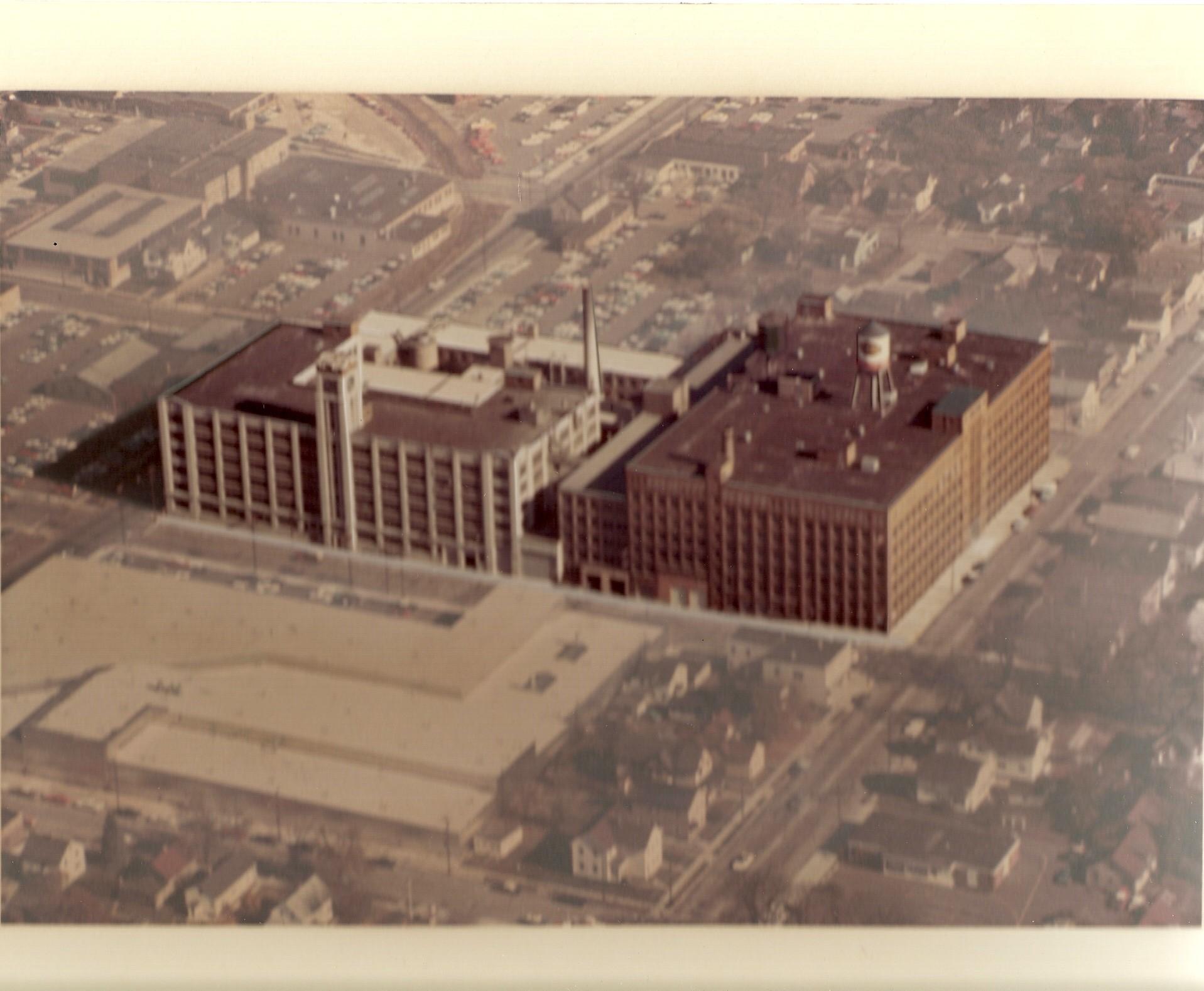 Aerial photo of Mirro Plant #2