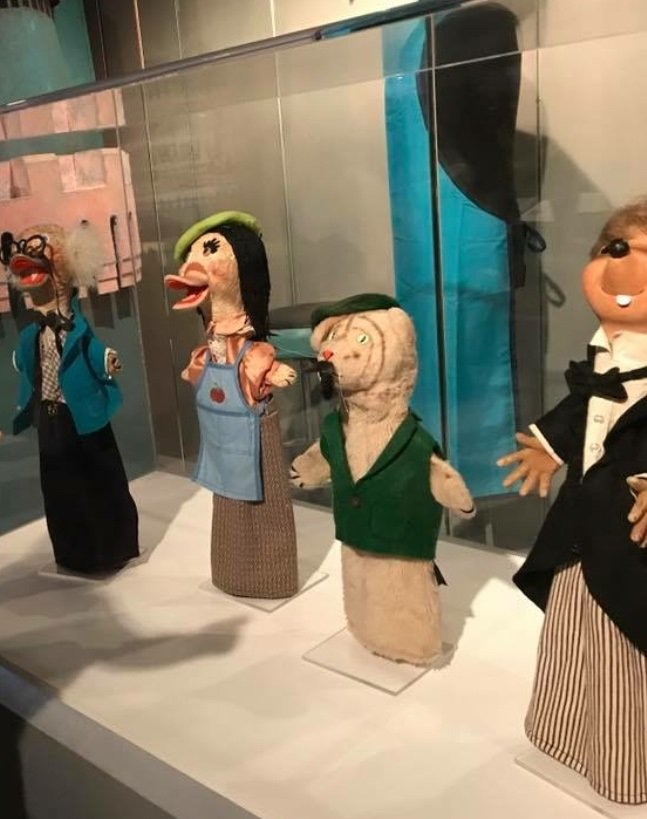The original puppets from the original Mr. Rogers' Neighborhood show at the Heinz History Museum.