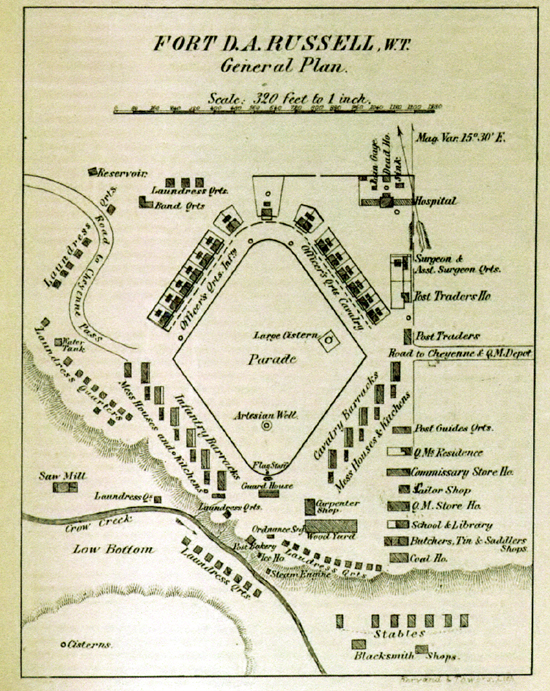 Layout of the fort