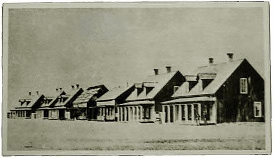 Officer's Row, 1868