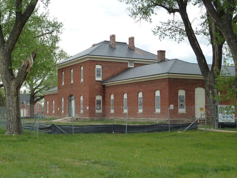 Renovated 1887 first brick hospital
