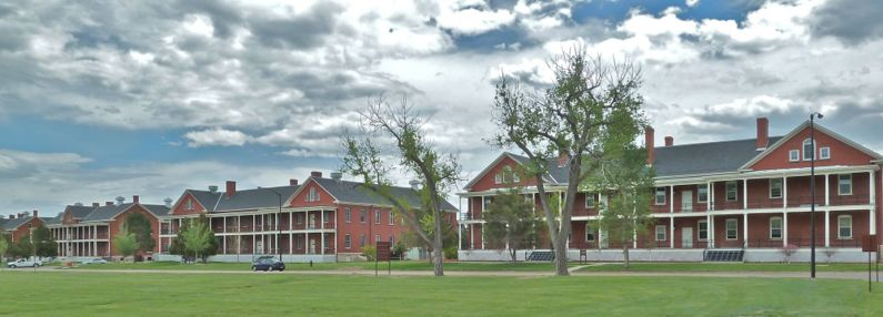 The Old Enlisted Barracks, as seen today