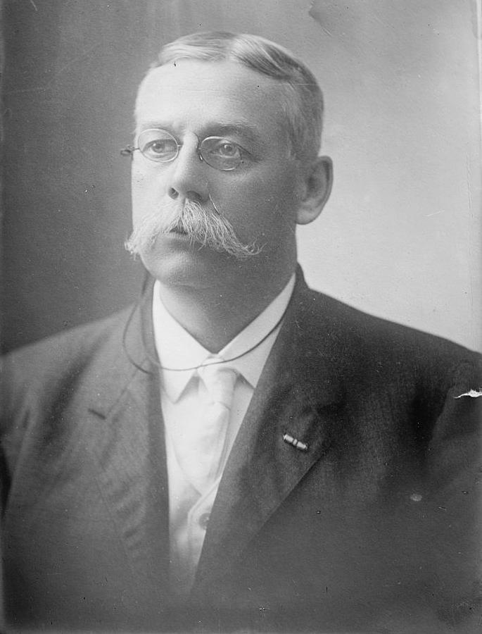 Francis E. Warren as Governor of Wyoming.
