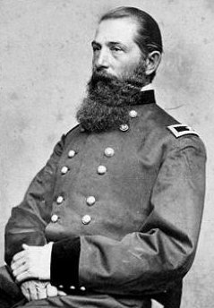 General D.A. Russell before his death in 1864. The original fort's namesake