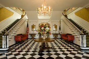 The Main Level of the West Virginia Governor's Mansion