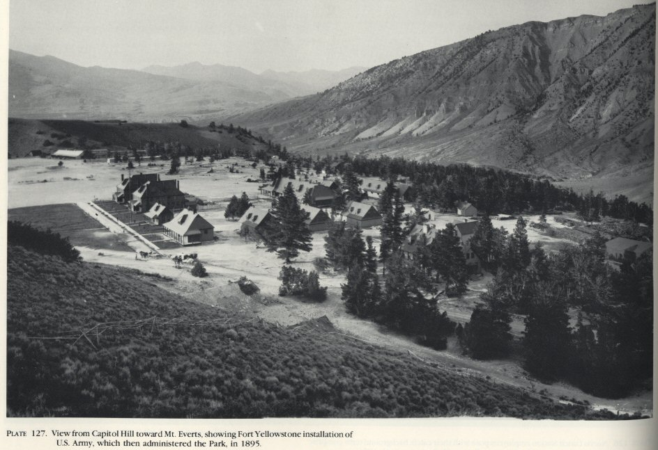 Fort Yellowstone in 1895