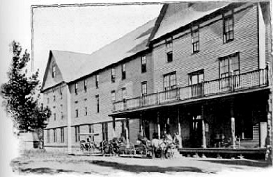1890s photo of the hotel