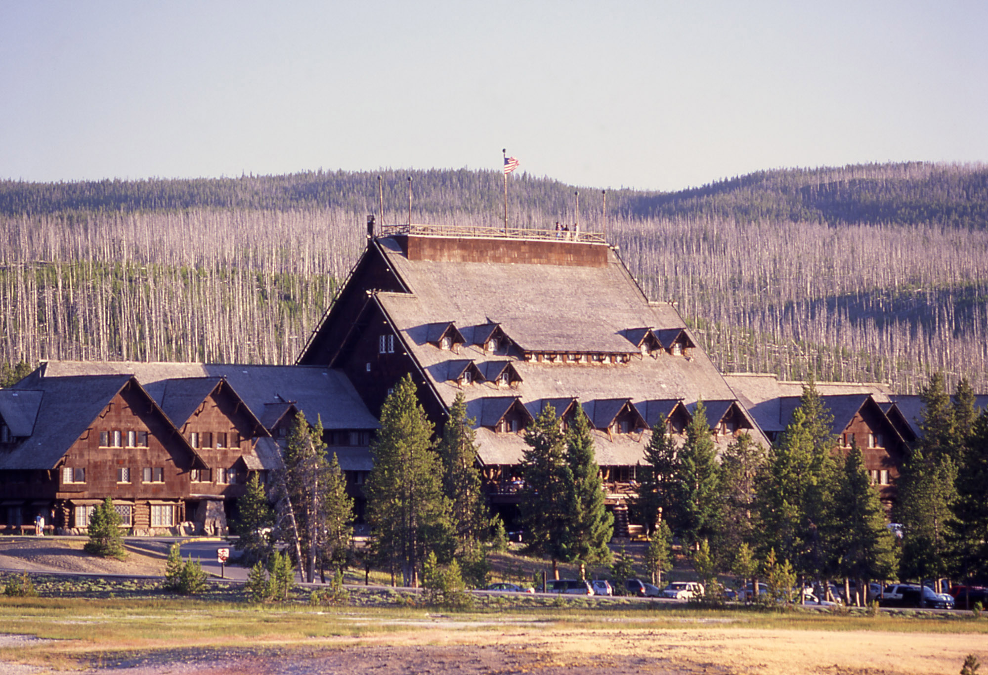 Old Faithful Inn as it looks today